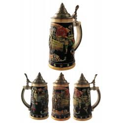 2T. Decorative ceramic mug beer 750 ml. «Oktobersbest».