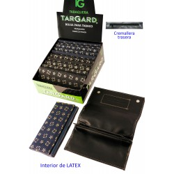 4T. Display with 12 bags «TG» for fine-cut tobacco «Sun simbols»