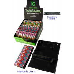 1T. Display with 12 bags «TG» for fine-cut tobacco «Crochet»