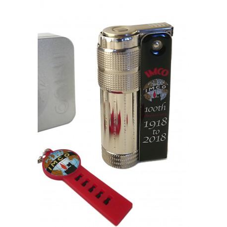 3T. Lighter «IMCO» Super/Triplex Oil 100th Anniversary black