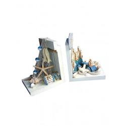 5T. Books Holder Nautical Mod. Lj7-097