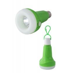 1T. Led bulb shape lamp green