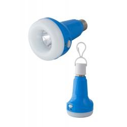 1T. Led lamp bulb shape blue
