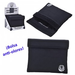 3T. Display with 6 smell-proof bags «Champ» black