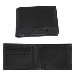 3T. wallet «Zippo» NAPA Bi-Fold black