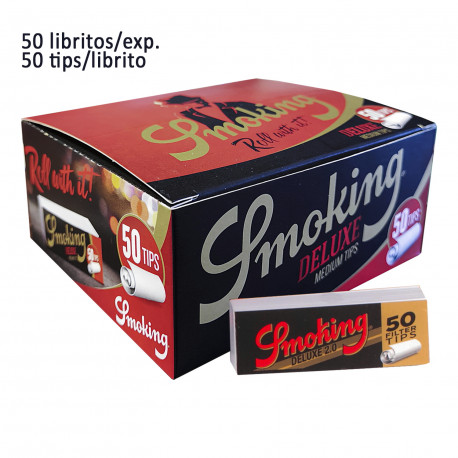 4T. Display with 50 booklets of 50 paper for filter tips «Smoking»