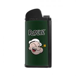 3T. Lighter «IMCO» Chic 4 pipe Flint Popeye green