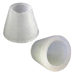 3T. Conector de goma para conexión con cazoleta