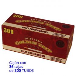 1T.  300 tubos Cajón con 36 cajas «Gilzy»