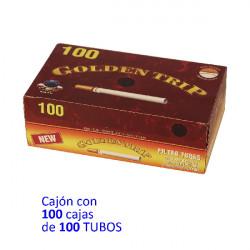 1T. 100 tubos Cajón con 100 cajas «Gilzy»