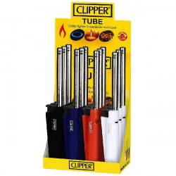 4T. Display with 12 «Clipper» kitchen lighters